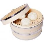 Vaporeras de Bambú