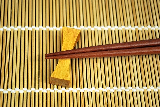 palillos de bambu