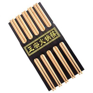 palillos chinos de bambu