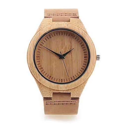 relojes de bambú